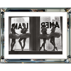 Ballet Dancers In Window