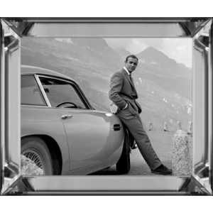 Spiegellijst James Bond ( Aston Martin ) 40/50