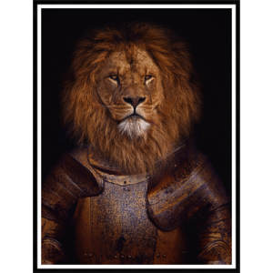 Lion Clad In Suit Of Armour 150/250
