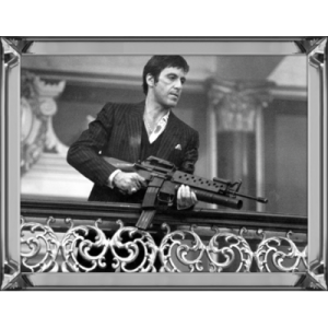 Scarface With Machinegun