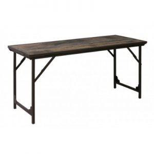Sidetable 150x60x75 Cm LAWN Hout Bruin