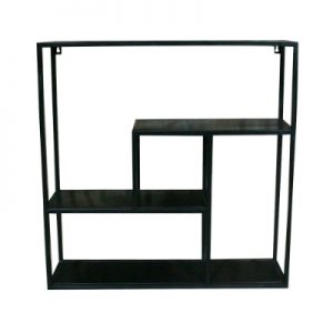 Iron Square Wall Rack