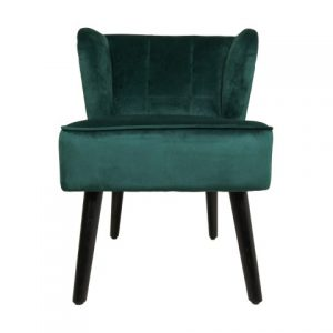Cocktail Chair Estelle – Velours – Donkergroen