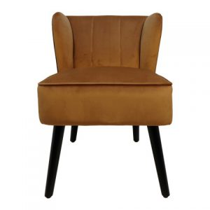 Cocktail Chair Estelle – Velours – Goud